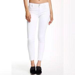 Hudson Nico Super Skinny Raw Hem Jeans